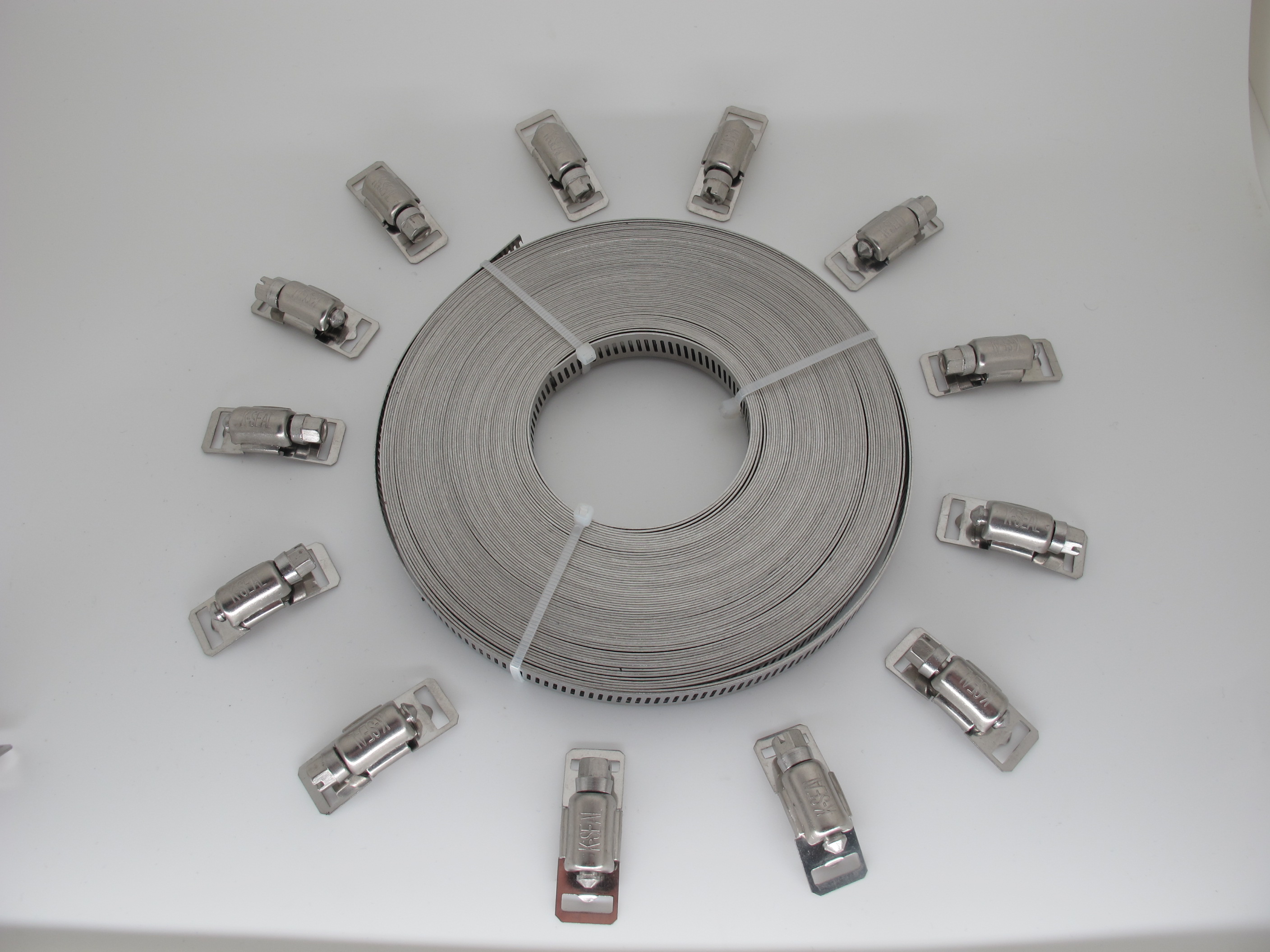 American Type Hose Clamp SET